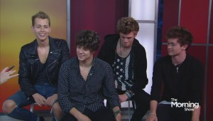Music group The Vamps joins TMS to talk about their meteoric rise