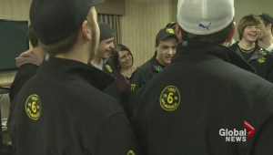 Broomball team fighting for more than a gold medal