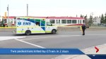 Two people die in two separate CTrain accidents