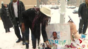 Torontonians gather at vigil to mourn the death of Elijah Marsh