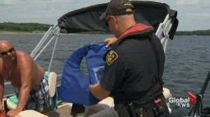 Police patrolling Ontario waterways this long weekend