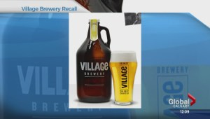 Village Brewery recalls beers because of possible explosions