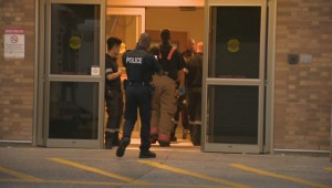 Raw Video: Two men taken to hospital after double shooting in Etobicoke
