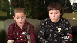 Kids rescued after snow fort plowed over