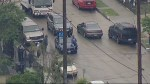 Bizarre police pursuit in Los Angeles includes donuts, TMZ tour bus