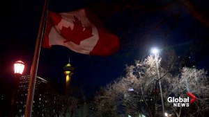 Calgarians show support after Brussels attack