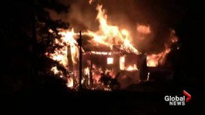 South Okanagan home destroyed by fire