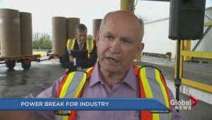 Power break for BC industry?