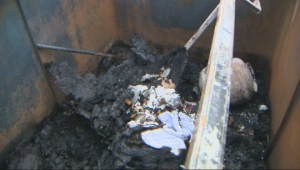 Police investigating garbage dumpster fires near two Toronto schools