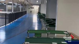 Evacuation Centre in Lac La Biche seeing lower demand