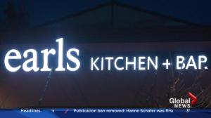 Earls to quit serving Canadian beef