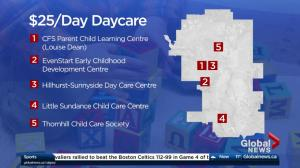 $25-a-day daycare operating in Calgary
