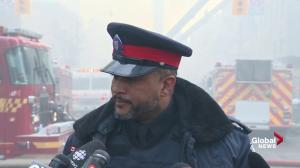 Toronto Fire deploying more equipment to address Yonge/St. Clair fire