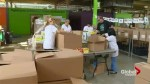 Thanksgiving preparations underway at the Daily Bread Food Bank