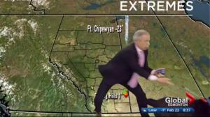 Weatherman Mike and a whirlwind of a dog named Kevin