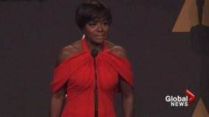 Viola Davis speaks about growing up in poverty following Oscars win