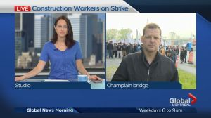 Quebec construction workers begin general strike