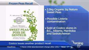 Costco recalls frozen sweet peas due to Listeria contamination