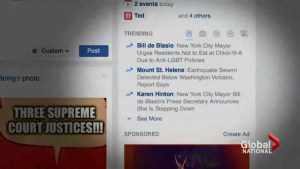Facebook doing damage control with conservatives over trending section claims