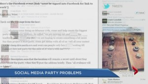 RCMP issue warning about social media party