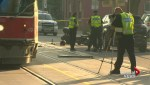 Collision with streetcar fatal for motorcyclist