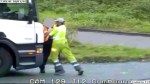 Violent road rage attack in Britain captured by CCTV