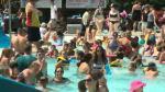 Edmontonians take advantage of summer heat