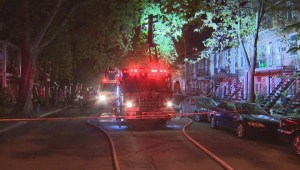 Raw Video: Fire on Ontario street