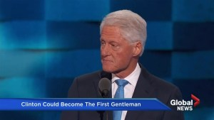 What kind 'First Gentleman' will former U.S. President Bill Clinton make?