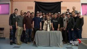North Battleford honours Battleford North Stars