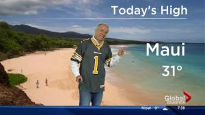 "Global News Morning ""Island Escape to Maui"" with WestJet Vacations"