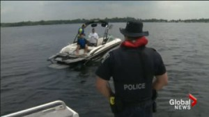 A big weekend for boating so Ontario police officers are reminding us of how to stay safe