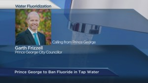 Prince George gets rid of fluoride in water