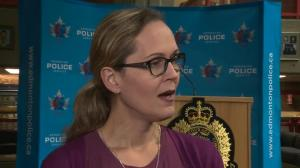 Edmonton woman talks about process of reporting hate crime to police