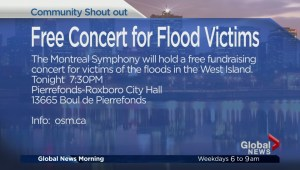 Community Events: Free Concert For Flood Victims