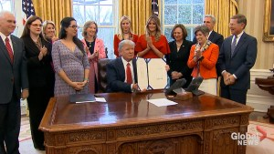 Trump signs executive order on female entrepreneurship