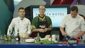 In the Global Edmonton kitchen with the Alberta Hotel Kitchen and Bar