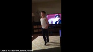 "8-year-old recreates Patrick Swayze's ""Dirty Dancing"" moves in viral smash"