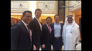 Trump son's attend opening gala of Trump International Golf Club in Dubai