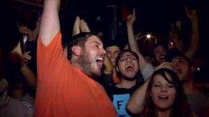 Giants fans celebrate in the streets after third World Series title in five years