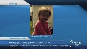 Search continues for missing two-year-old girl in rural Ontario