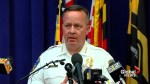 Baltimore police comments on allegations of an officer planting evidence at a scene