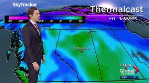 Edmonton Weather Forecast: April 24