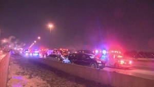 Driver struck and killed changing tire on Highway 400