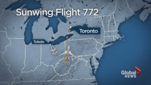 Security scare aboard Sunwing flight