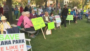 Penticton residents rally against mayor and council