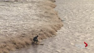 Tides reach highest levels in Bay of Fundy