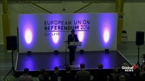 North Lanarkshire votes to stay in European Union after 2016 EU referendum vote