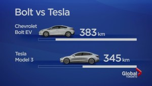 Length Matters: Chevy Bolt beats Tesla range