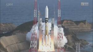JAXA launches rocket carrying Canadian satellite
